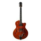 047802 5th Ave Uptown Custom Havana Brown Электрогитара арктоп, с футляром, Godin